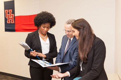 Process and Oversight - Team Members Collaborating - Steven R. Goodman, CPA, CFP®, Chelsea A. Bailey, and Natasha Naik